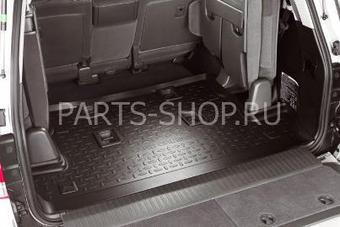 Коврик багажника LC200 с высоким бортиком 7-ми меcтный