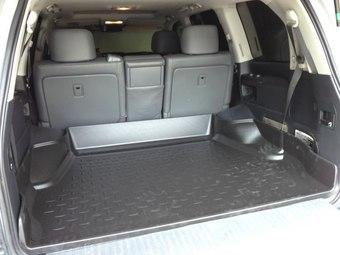 Коврик багажника LC200 5 мест (борт 25 см)