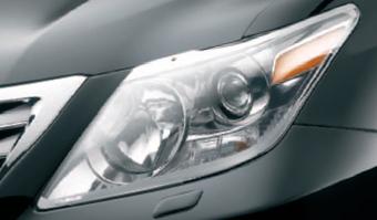 Защита фар Lexus LX570 OEM