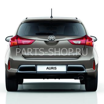 Хромированная накладка двери багажника Auris 2012-