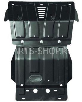 Защита картера и рулевых тяг GX460 сталь 2 мм.