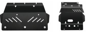 Защита картера стальная для LC150 (крепеж в комплекте)