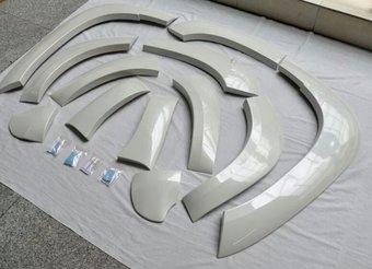 Расширители колесных арок LC150 (черный, белый, серебро либо под покраску)