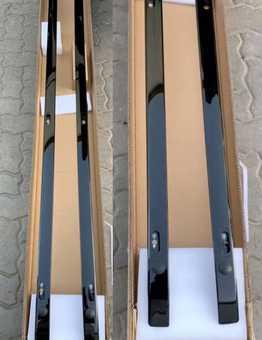 Рейлинги LX570/LC200 глянцевые черные