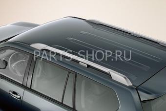 Рейлинги на крышу LC150 серебристые