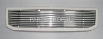 Решетка радиатора LC120 (перемычки металлические, серебристая или белая окантовка)