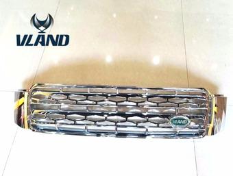Решетка радиатора Kluger/Highlander 00-07 стиль Rover, хром