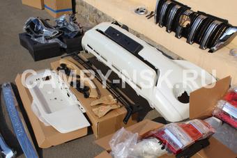 Комплект для переделки в рестайлинг LC150 (зад и перед)