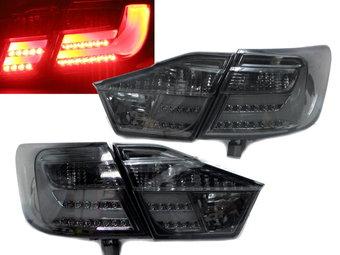 Фонари задние Camry50 светодиодные-тонированные стиль Lexus (комплект)