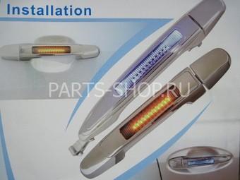 Дверные ручки с подсветкой на Harrier 2003-