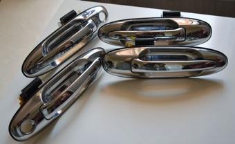 Ручки дверные в сборе LX470. OEM (комплект)