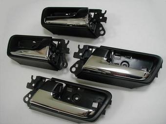 Ручки дверей внутренние хромированные на LC150