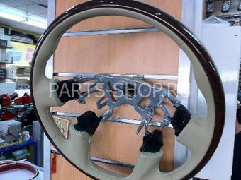 Руль спортивный с анатомией (под оригинал) на Nissan Patrol 2010-