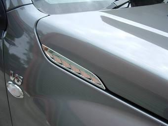 Накладки на решетки капота Suzuki Vitara хром