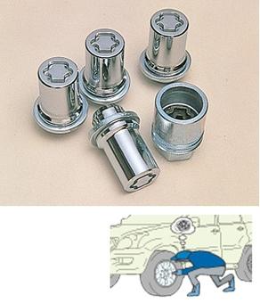 Секретки колесные для Mazda 6