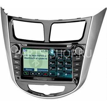 Штатная магнитола Hyundai Solaris