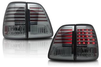 Оптика задняя светодиодная тонированная (комплект) Toyota LC100