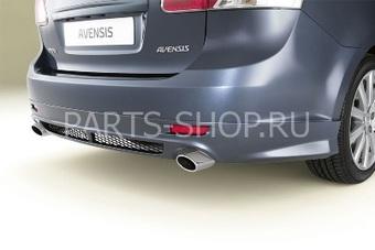 Спойлер заднего бампера для Avensis 2009 года (для авто с 2-мя выхлопными патрубками)