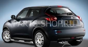 Спортивная выхлопная система Nissan Juke (двойная, нерж., бензин 2WD)