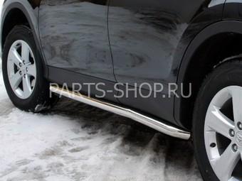 Боковая защита кузова RAV4 2013