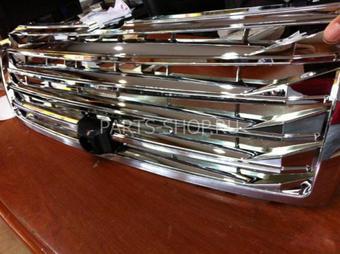 Решётка радиатора хром LC150 под камеру (дизайн Lexus)
