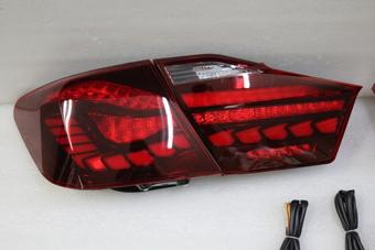 Фонари задние Camry50 динамические, стиль BMW OLED