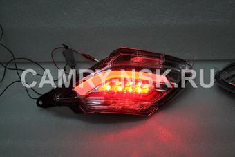 Задние противотуманные фонари rx270 диодные, дымчатые