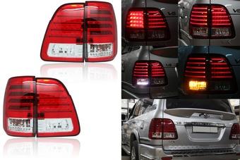Оптика задняя диодная lc100 стиль Lexus