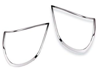 Накладки на задние фонари хромированные Camry30