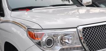 Toyota land cruiser 200 молдинг под лобовое стекло нерж.