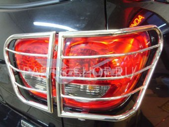 Защита фонарей Toyota Sequoia 08-13 нерж.