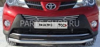Защита передняя RAV4 2013