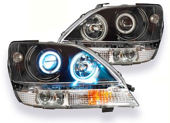 Оптика передняя линзовая с ангельскими глазками Harrier (к-т)