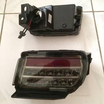 Задние противотуманные фары светодиодные-тонированные (комплект) LC Prado 150