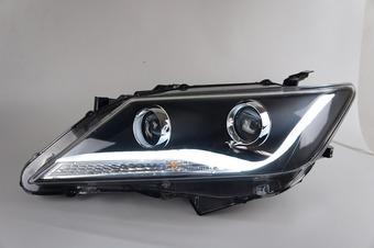 Оптика передняя линзовая Camry 2011- чёрная или хром