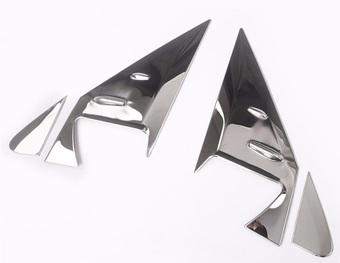 Накладки на уголок зеркала LC150 / LC200 из нерж. стали