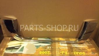 Накладка на заднюю дверь под номерной знак LC200 2012