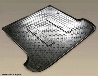 Коврик багажника полиуретан 5-ми местный lc200 (сер, черн, беж)