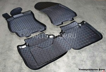 Коврики салона полиуретановые для Mazda 6 2008- (серые,черные,бежевые)