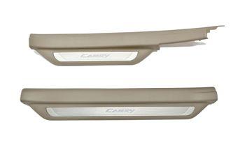Внутрисалонные пороги с подсветкой Camry40/45