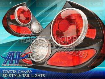 Фонари задние Toyota Camry (02-06) 3D-Black