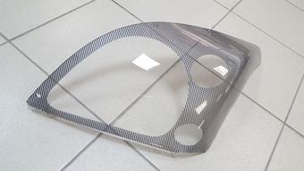 Защита фар карбон lc120