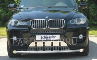 Защита переднего бампера для BMW X6