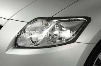 Защита передних фар прозрачная Auris 2006-09