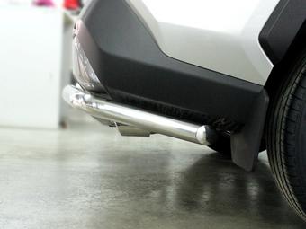 Защита заднего бампера уголки rav4 XA50