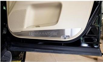 Защитные накладки на обшивку Highlander 2013-19 нерж. (4 части)
