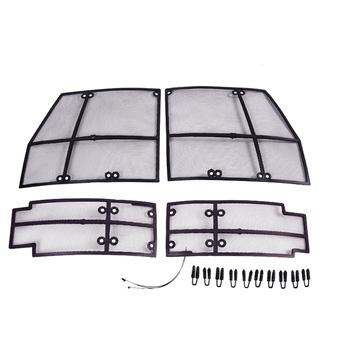 Защитные сетки на решетку patrol Y62 (4 части)